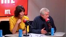 Claude Lelouch et Marianne Denicourt dans A La Bonne Heure !