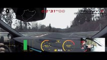 World Record! Renault Megane 4 RS Trophy-R on board at Nürburgring Nordschleife (HD)