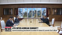 4th inter-Korean summit not to involve much formality but focus on substance: gov't official