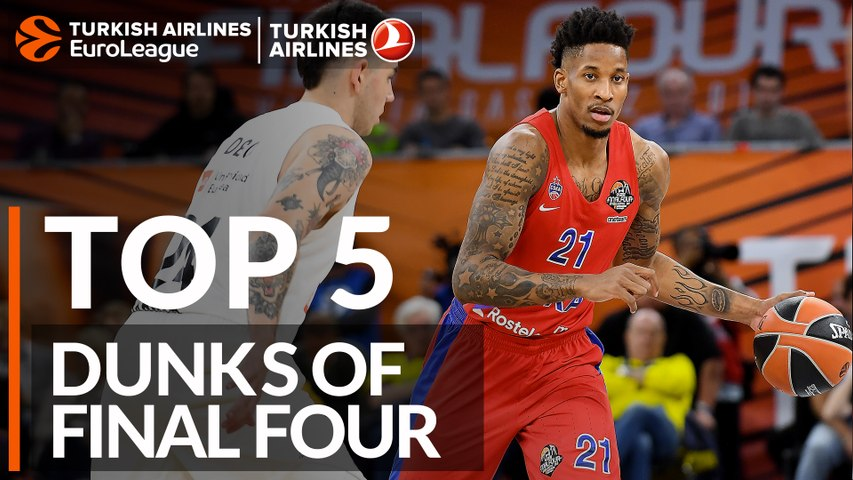 Top 5 dunks of the Final Four