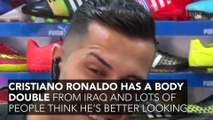 Cristiano Ronaldo's Has A Body Double From Iraq And Lots Of People Think He's Better Looking