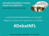 Débat Noeud Ferroviaire Lyonnais  - Réunion publique de Grenoble-210519