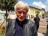 Obsèques de Mick Micheyl à Montmerle-sur-Saône : Dave se confie
