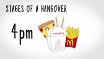 Stages Of A Hangover & Other Memes