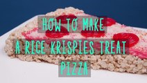 How To Make Pizza From Rice Krispies