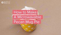 How To Make A Microwavable Pecan Mug Pie