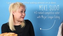 Women Try Competitive Eating With Miki Sudo