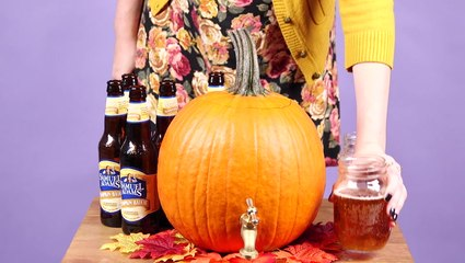 How To Make A Pumpkin Keg