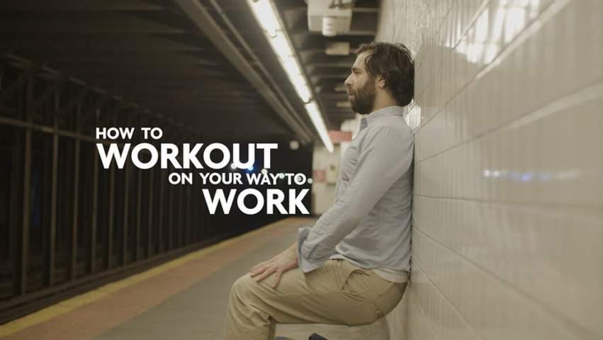 How To Workout On Your Way To Work