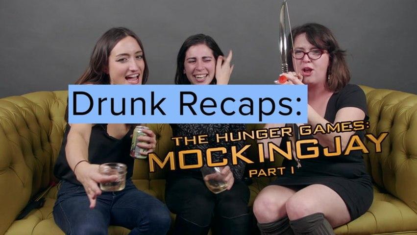 Drunk Recaps: The Hunger Games - Mockingjay Part 1