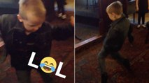 This Kid Has Nailed Elvis' Smooth Dance Moves