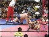 Jumbo Tsuruta vs. Harley Race (AJPW Summer Action Series 1982 - Tag 24 )