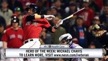 VA Hero Of The Week: Michael Chavis Keeps Hitting Homers