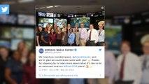 Ariana Grande s'est éclatée à la NASA!