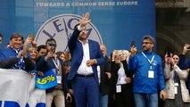 Parolin contro Salvini,  la croce contro la spada alle elezioni europee