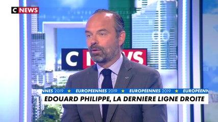 Edouard Philippe - CNews jeudi 23 mai 2019