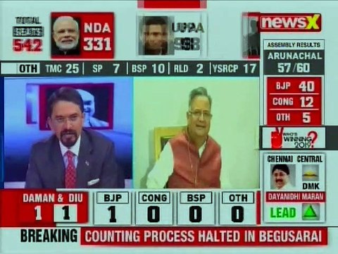Lok Sabha General Election Results Live Updates 2019: Raman Singh, People have rejected Congress