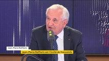 """Jean-Pierre Raffarin aurait viré à gauche ? """"Je reste au centre-droit !"""""""", assure l'ancien Premier ministre"""