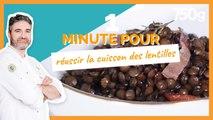 1 min pour... Réussir la cuisson des lentilles - 750g