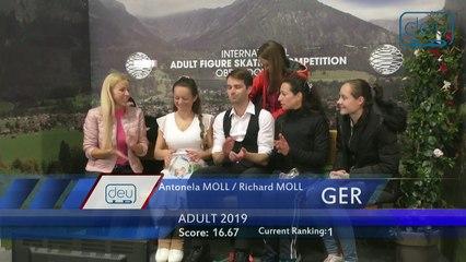 2019 International Adult Figure Skating Competition - Oberstdorf, Germany (5)