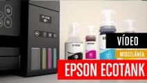 Con EcoTank tienes tanta tinta incluida como la de 88 cartuchos
