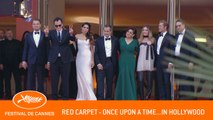 ONCE UPON A TIME... IN HOLLYWOOD - Red Carpet - Cannes 2019