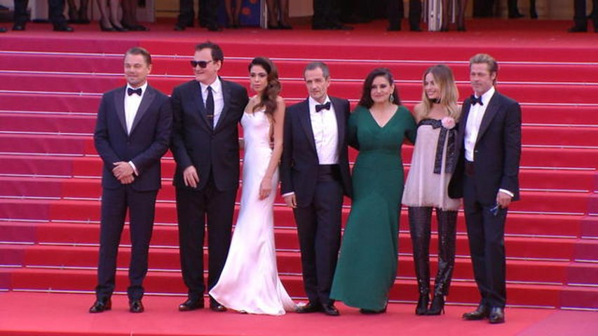 Les Marches du 21/05/19 - Once Upon a Time in Hollywood - Cannes 2019
