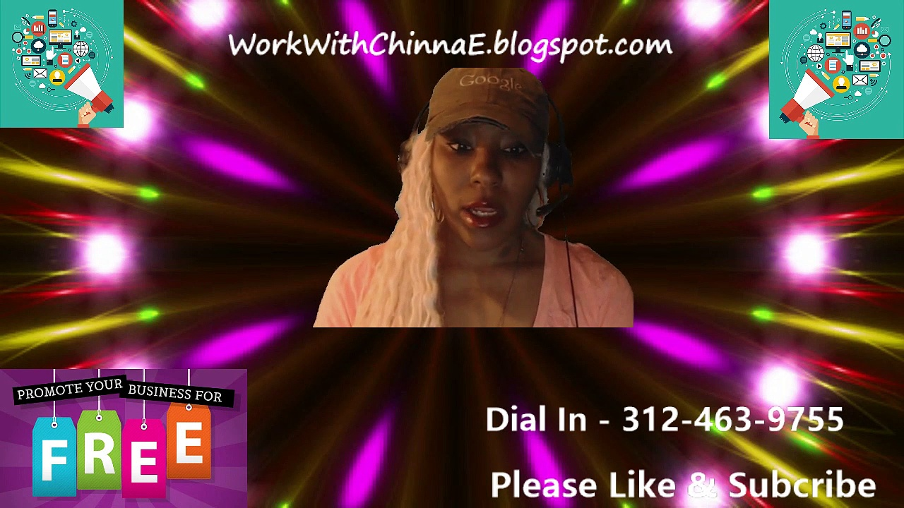 Shout Out Your Business Live – FREE – WorkWithChinnaE