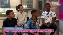 'When They See Us' Cast Says the Story of Central Park Five Now a 'Triumph'