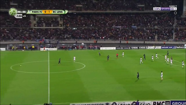 Paris FC [1]-1 RC Lens - Maletic 92nd minute equalizer