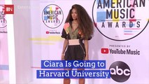 Ciara Takes Her Talents To The Ivy League