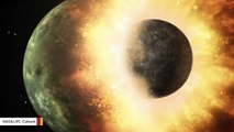 Collision With Dwarf Planet Explains Moon's Two Faces, Scientists Suggest