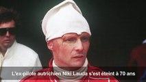 F1: Niki Lauda meurt à 70 ans