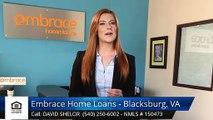 David Shelor Embrace Home Loans - Blacksburg, VA BlacksburgTerrificFive Star Review by Erich ...