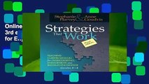 Online Strategies That Work, 3rd edition: Teaching Comprehension for Engagement, Understanding,