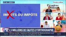 Grand débat: en moyenne, les Français ont commis une faute tous les 54 mots dans leurs contributions