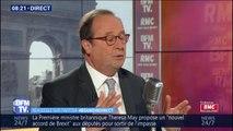 """""""Je ne pense pas que ce soit la place d'un ancien président."""" François Hollande ne participera pas à un meeting pour les européennes"""