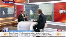 """François Hollande: """"Je soutiens la liste socialiste de Raphaël Glucksmann parce que je suis socialiste"""""""