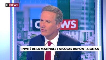 Nicolas Dupont-Aignan - CNews mercredi 22 mai 2019