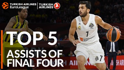 Top 5 Assists of the Final Four