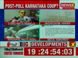 Congress Roshan Baig Rebels after Exit Poll Results; Congress Party Issues Showcause Notice