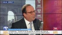 """François Hollande: """"Les gilets jaunes ont obtenu ce que les partis politiques ou les syndicats n'ont pas pu obtenir"""""""