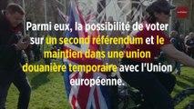 Brexit : May propose un second référendum si son accord est adopté