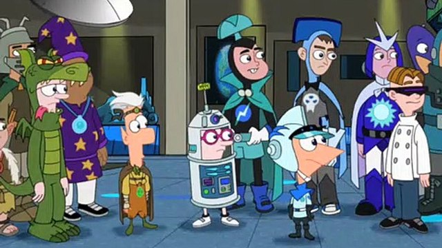 Phineas and Ferb S02E32.Nerds of a Feather