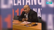 Bato Dela Rosa on training for Senate: I am a PHD holder, I know policy-making