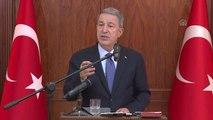 """Milli Savunma Bakanı Akar: """"Sağlık Bakanlığımızla Çalışarak Askerlik Hizmetini Yedek Subay Olarak..."""
