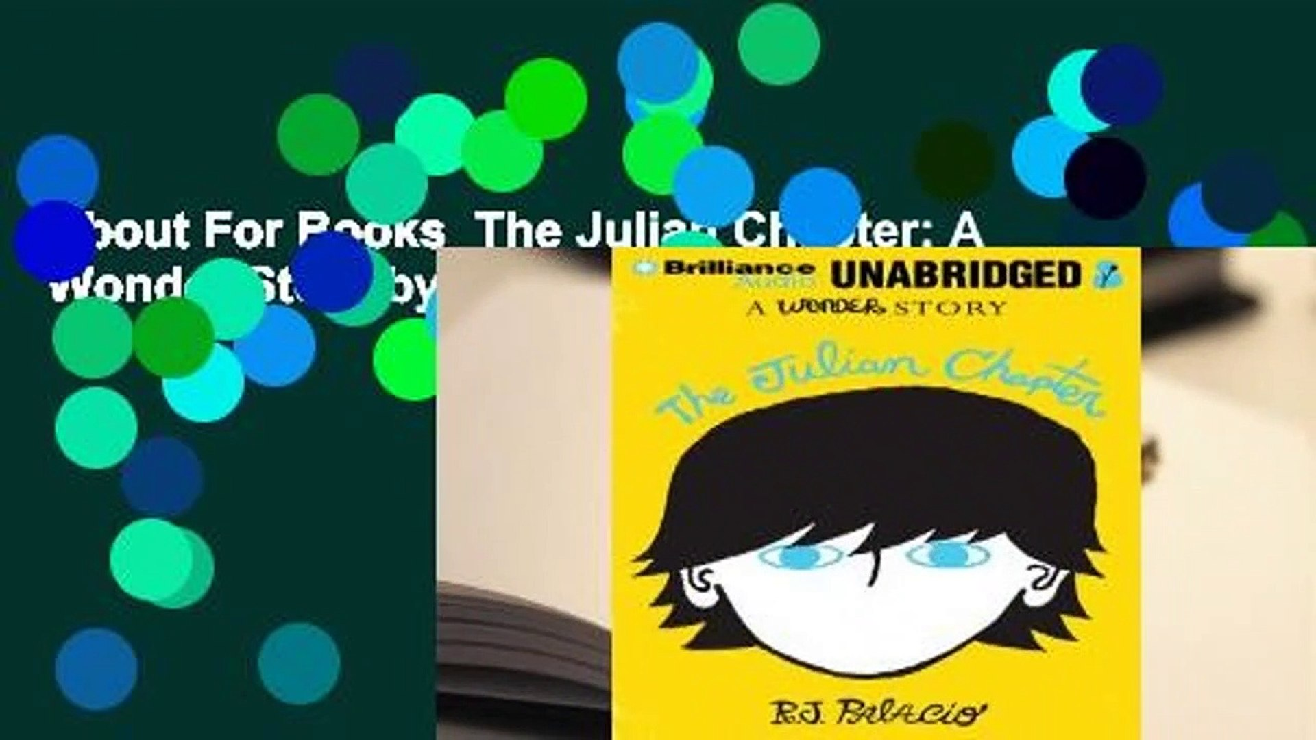 "5 thoughts on ""The Julian Chapter 