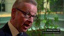 Michael Gove announces ban on certain plastic items