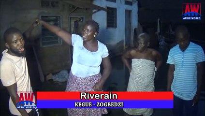 Togo: Inondation à Kégué-Zogbédji, une banlieue situé au nord de la ville de Lomé