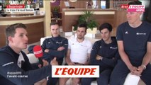 Démare présente son train - Cyclisme - Giro - Groupama-FDJ